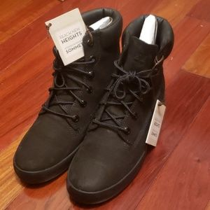 Flannery Black Timberlands